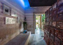 Raw materials and ingenious finsihes shape stylish Casa Desnuda