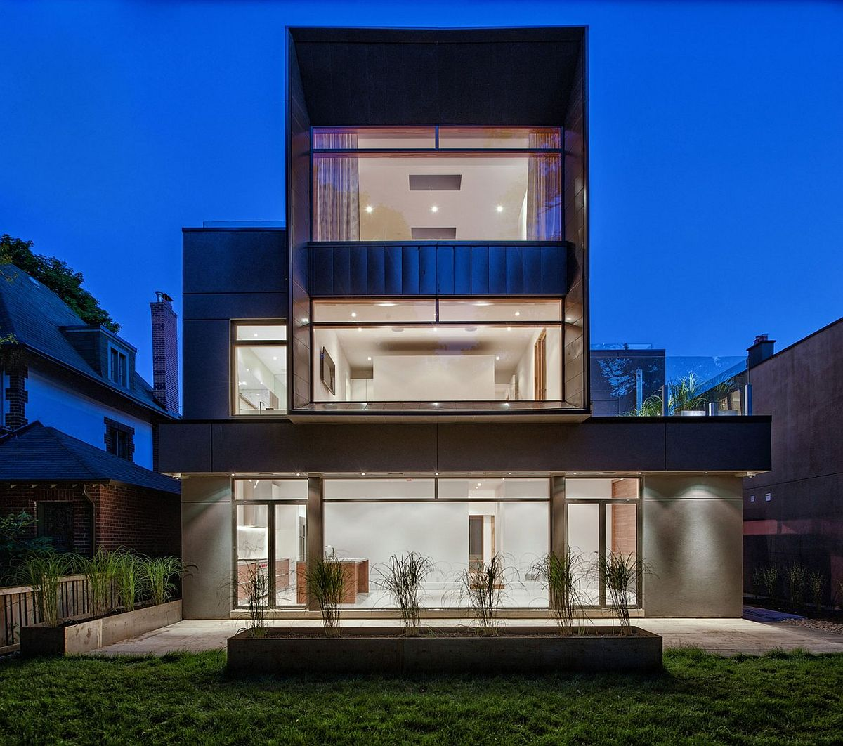 Modern Heathdale Residence In Toronto With Cor Ten Facade