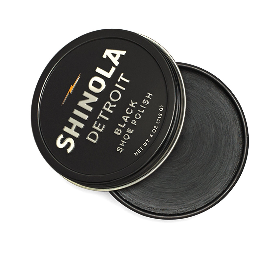 Shinola shoe polish. Produced in small batches in Chicago by C.A. Zoes Manufacturing. Image© Shinola 2016.
