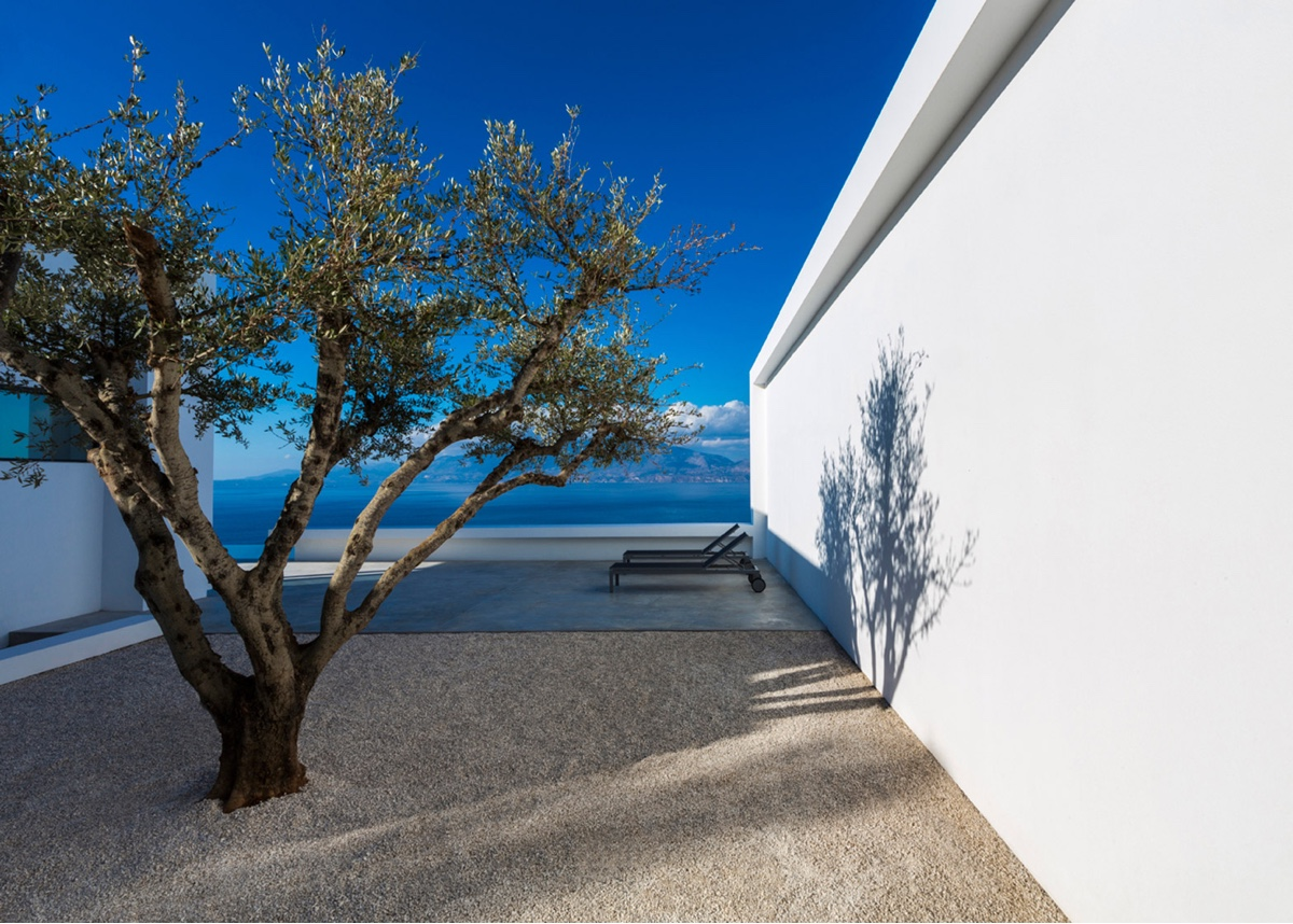 Silver House terrace area