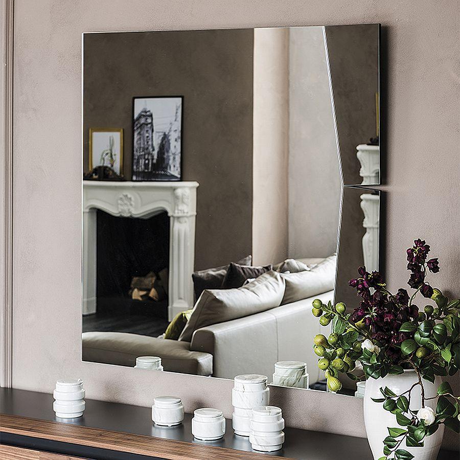 Smair wall mirror by Ennio Pasini