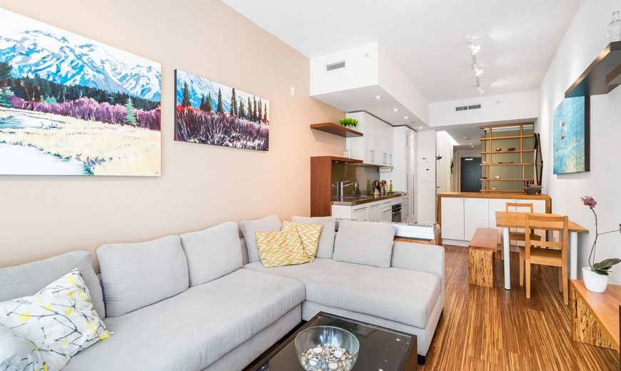 Up for Grabs: Small Modern Apartment That Maximizes Space and Style