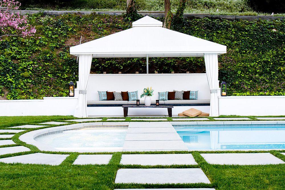 Soothing contemporary retreat in your own backyard! [Design: Allison Knizek Design for Prescott Properties]