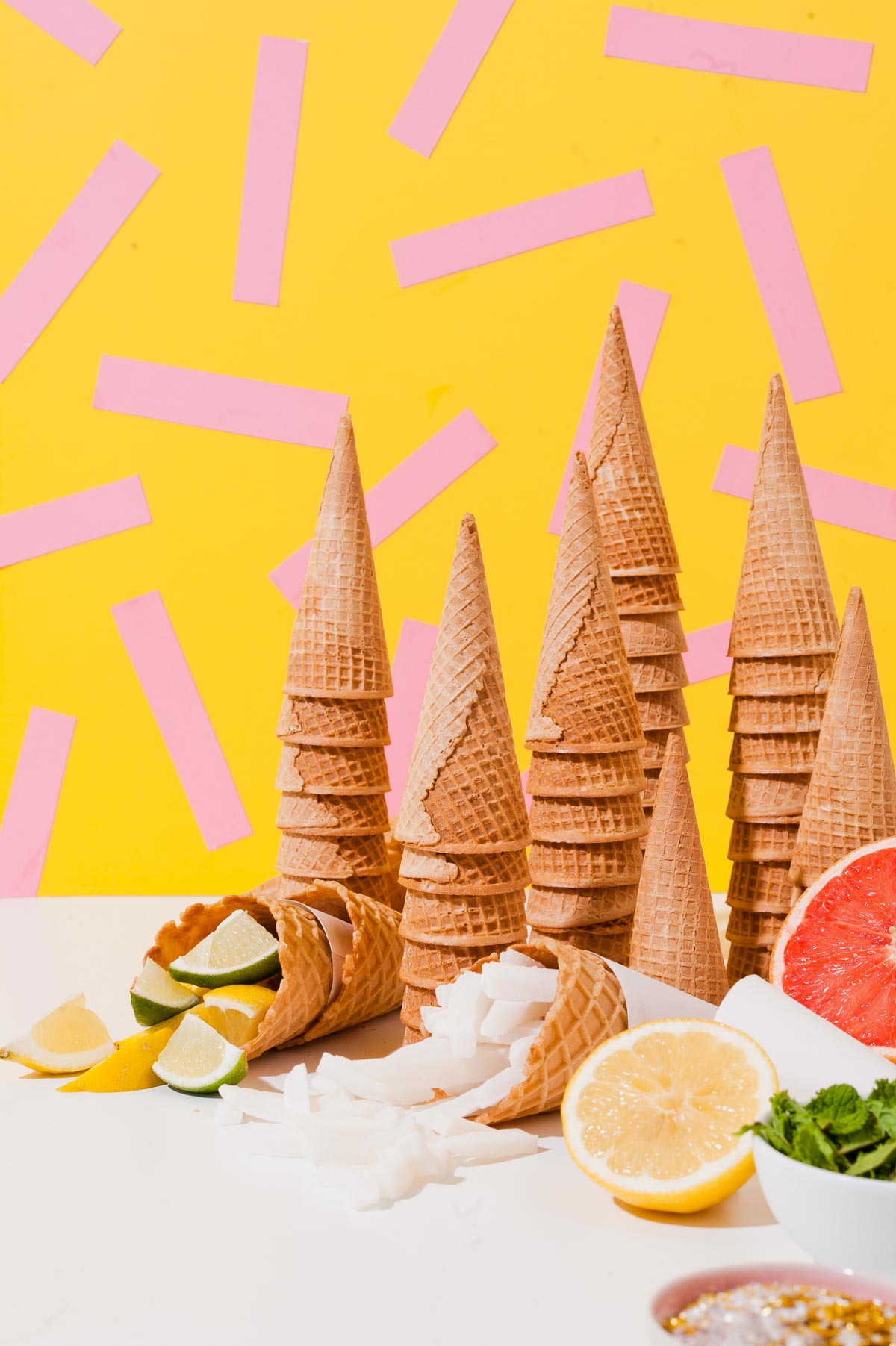 Sorbet bar styling from Paper & Stitch