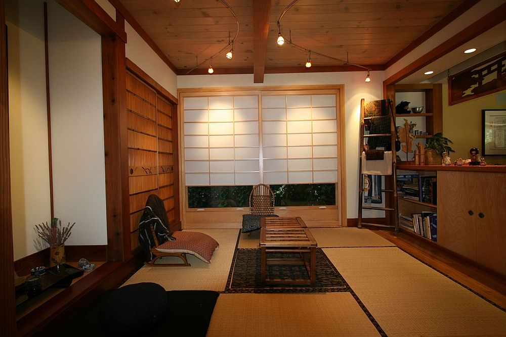 A world of zen 25 serenely beautiful meditation rooms for Living room design japanese style