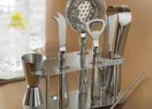 Stainless steel bar tools from Williams-Sonoma