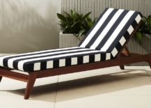 Striped lounger from CB2