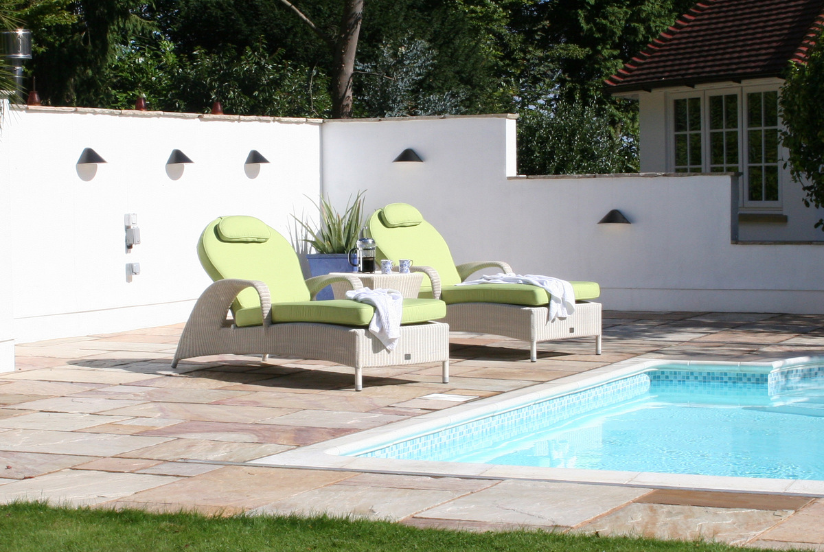 Sussex Sun Loungers from Bridgman