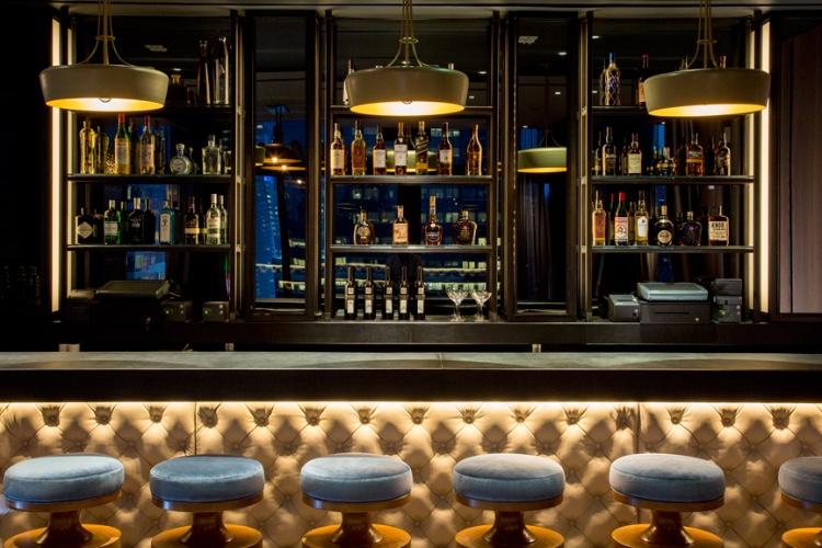 The Skylark bar.