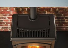 Traditiional British design fused with contemporary functionality by Deco pellet stove