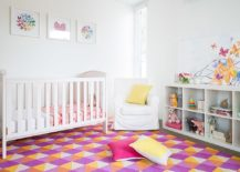 Trendy-rug-gives-the-nursery-a-smart-contemporary-feel-217x155