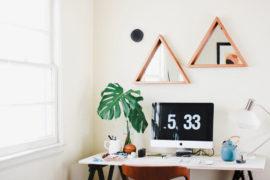 Design Trend: Small Geo Mirrors