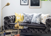 Tropical motifs in a room from H&M Home