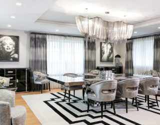Harbury Country House Unleashes Art Deco Design Laced with Hollywood Glam