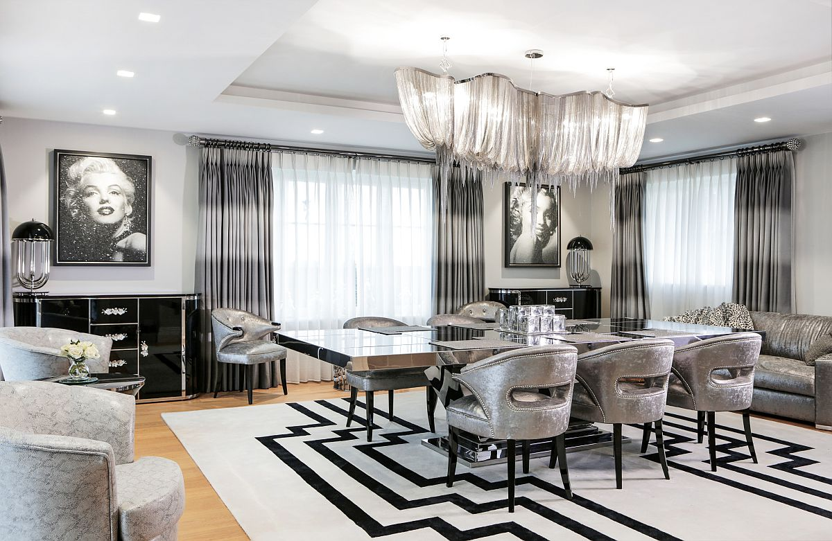 harbury country house unleashes art deco design laced with hollywood glam. Black Bedroom Furniture Sets. Home Design Ideas