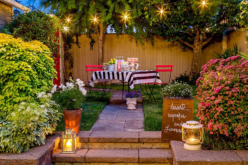 Use lanterns to add aesthetic quality and supplement ambient lighting in the patio [From: Cassie Daughtrey Realogics Sotheby's Realty / Cory Holland Photography]