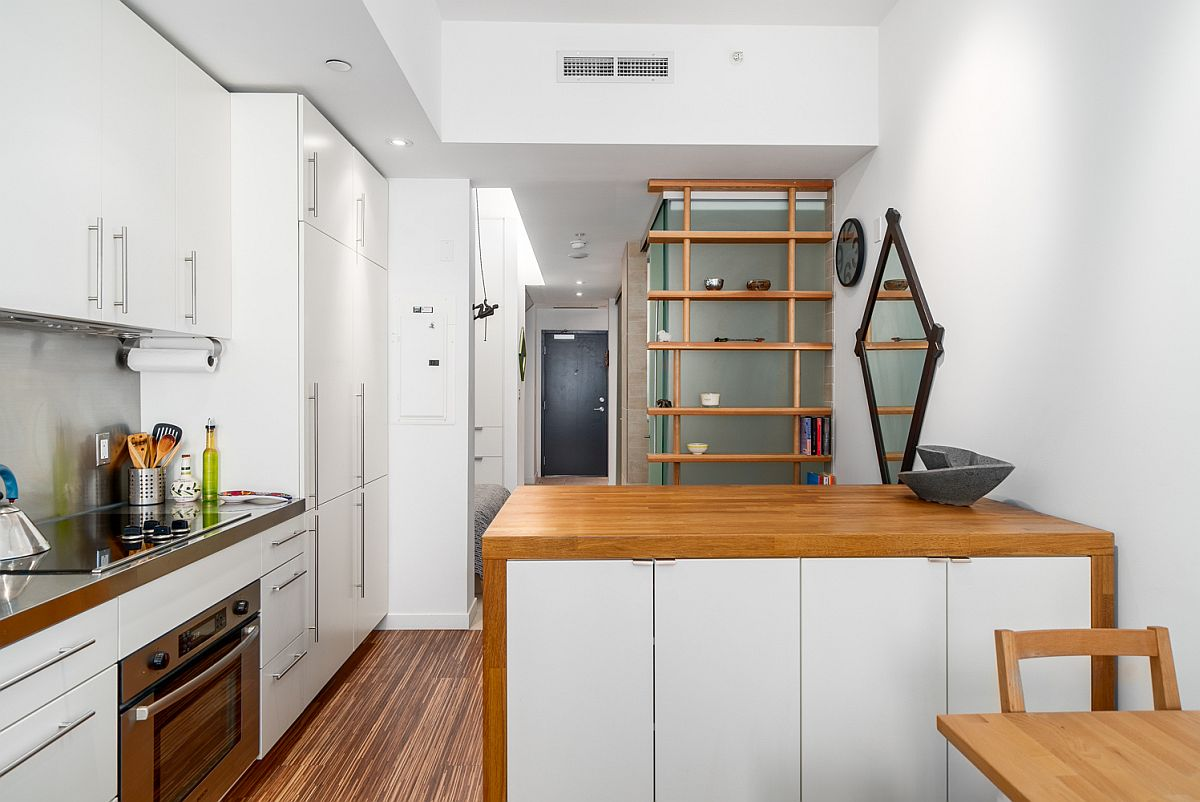 Small Modern Apartment in Vancouver Maximizes Space and Style