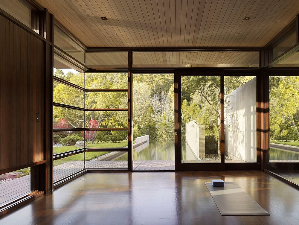 View outside is all this reflective space needs [Design: Ryan Associates General Contractors]