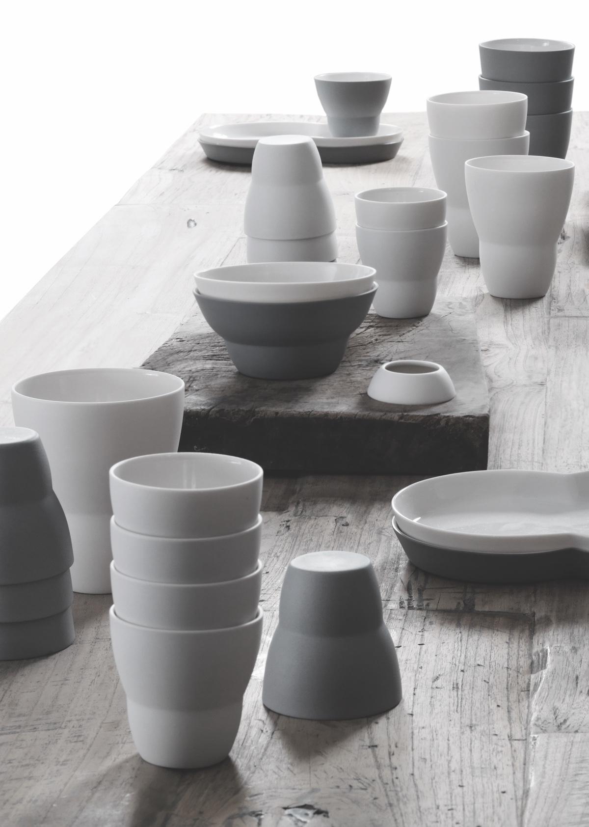 Vipp'sceramic collection was developed in collaboration with Danish ceramicist Annemette Kissow.