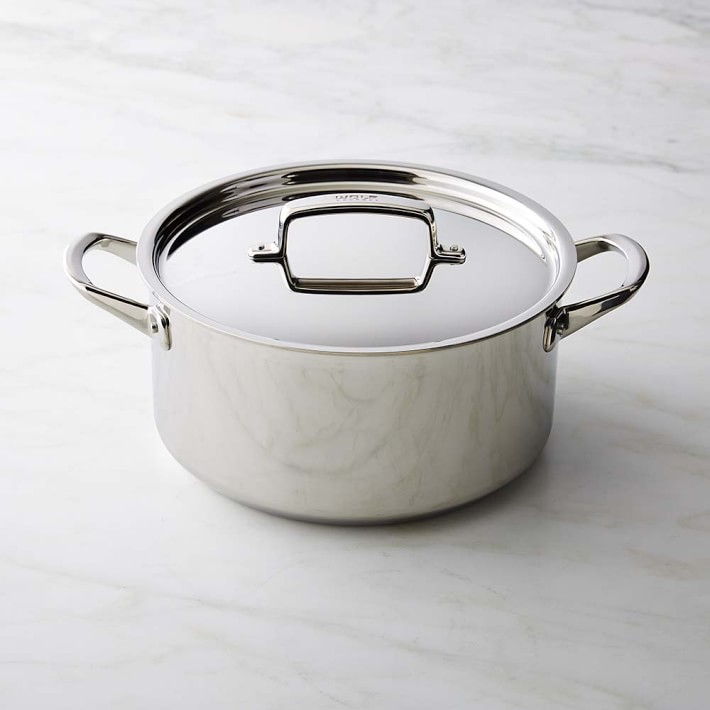 Wolf stainless steel stock pot