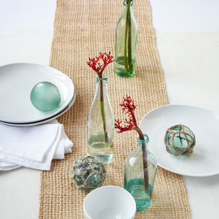 Woven table runner from West Elm