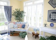 You can turn even the smallest corner into a beautiful sunroom