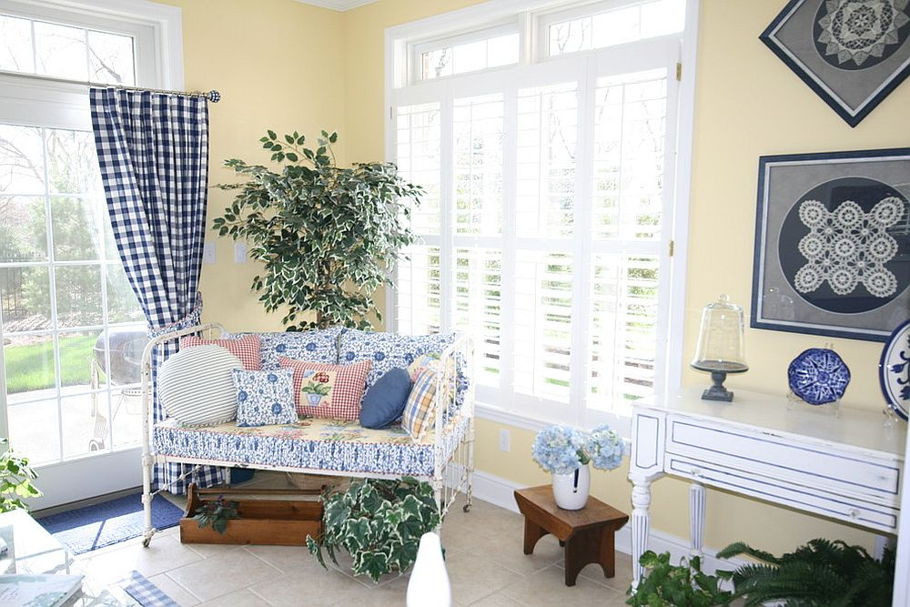 You can turn even the smallest corner into a beautiful sunroom [Design: Sensational Surroundings]