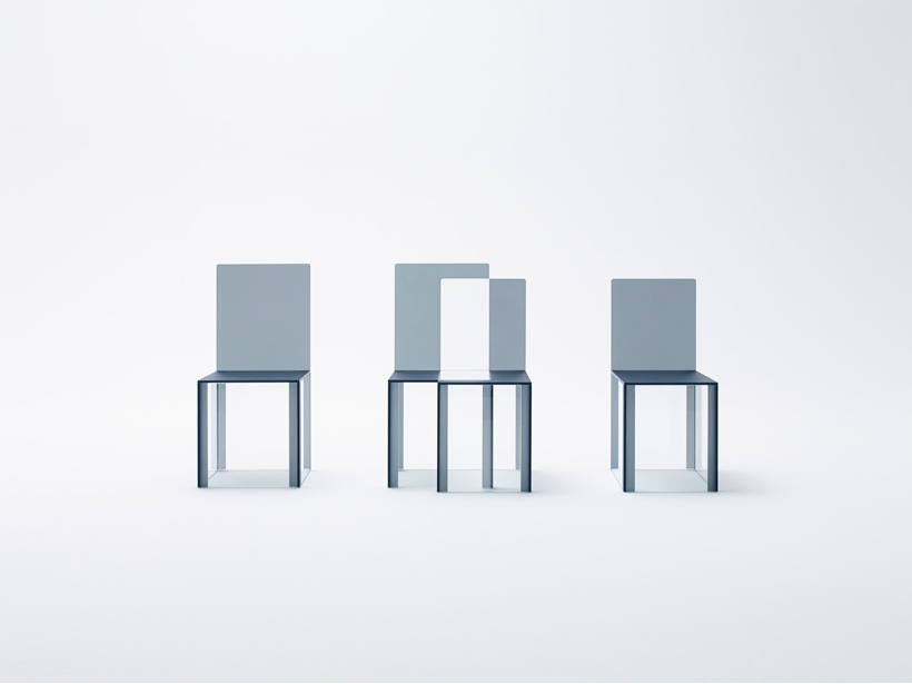 "nendo pair for Glas Italia. Part of ""between boundaries"". Image by Kenichi Sonehara courtesy of nendo."