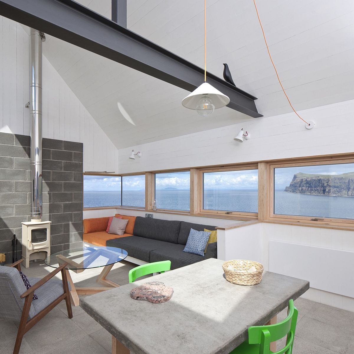 Tinhouse Rural Design: Serene Residence On Isle Of Skye Blends Rural And Modern