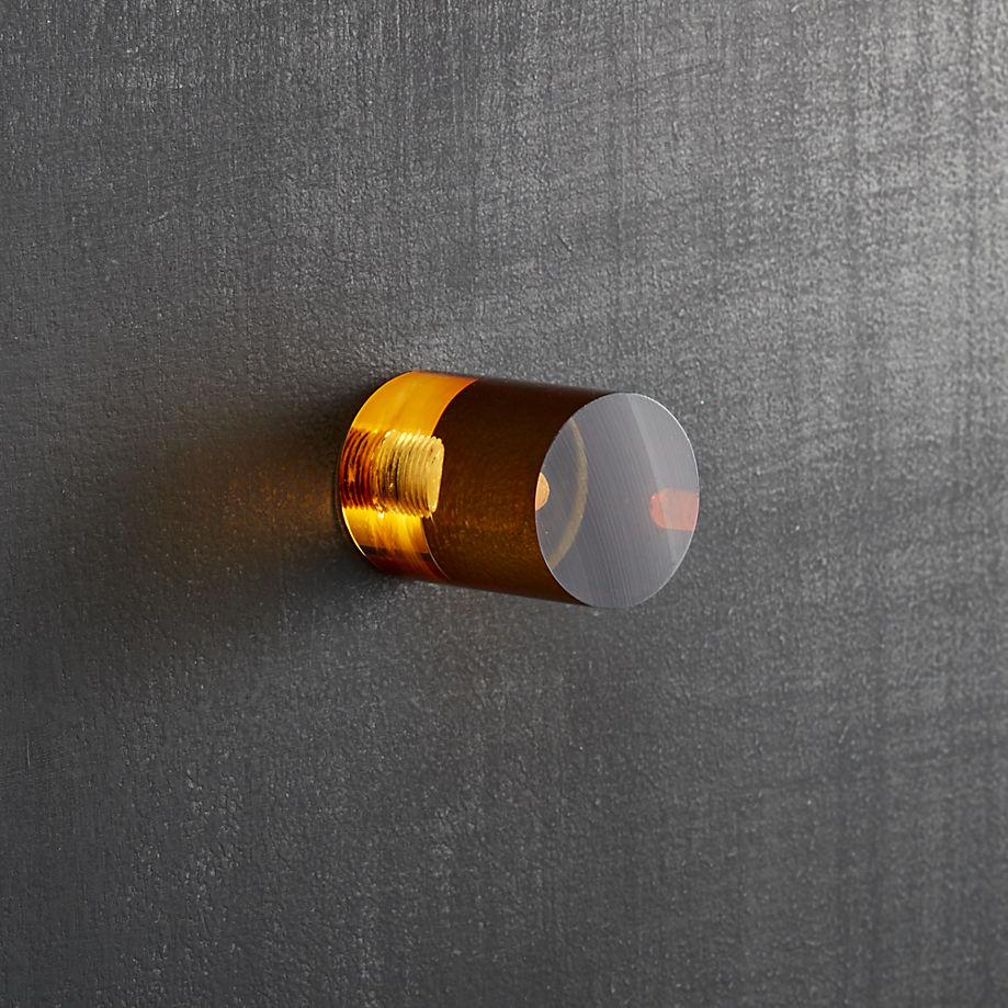 Acrylic knob from CB2
