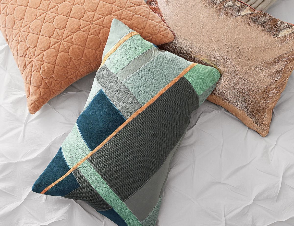 Angular pillow from CB2