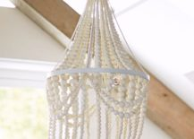 Beaded chandelier from PB Teen