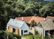 STEKO Wooden Blocks Create a Cozy Home in Scenic Slovakian Hills