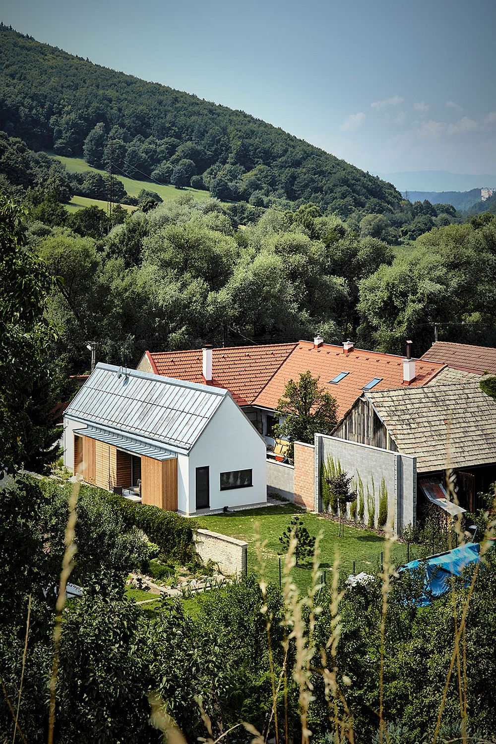Beautiful and cozy Slovakian home set in a rustic and hilly backdrop