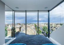 Stunning floor-to-ceiling windows showcase the view