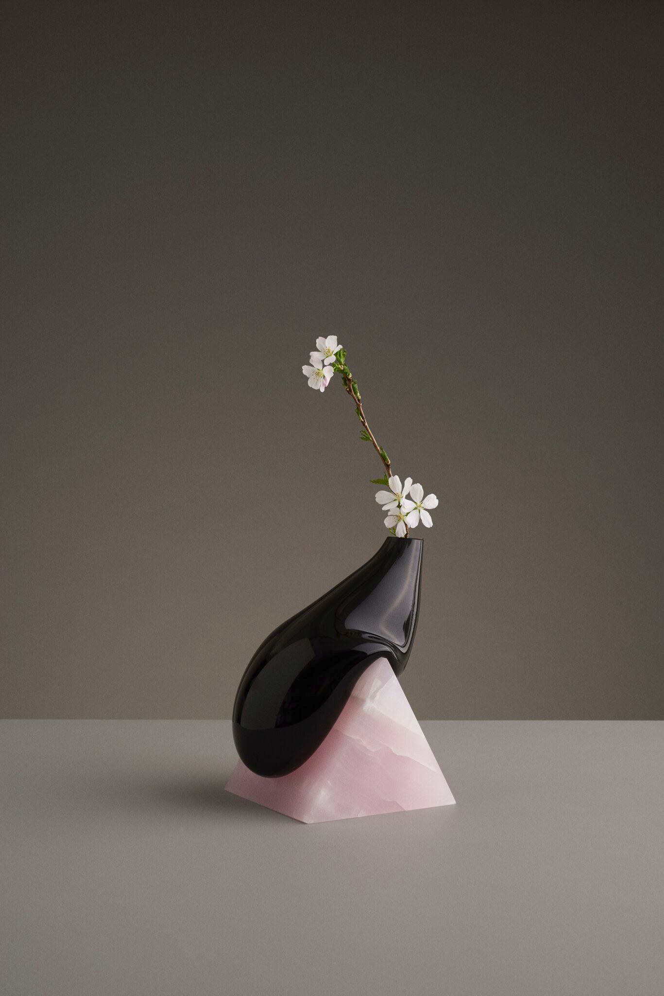 Black Indefinite Vase from Studio E.O