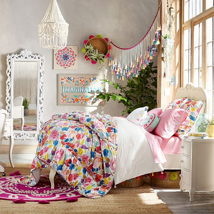 Boho Chic Bedroom: Fun New Trends For Kids' Rooms