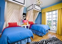 Bold kids' room design with plenty of color and pattern