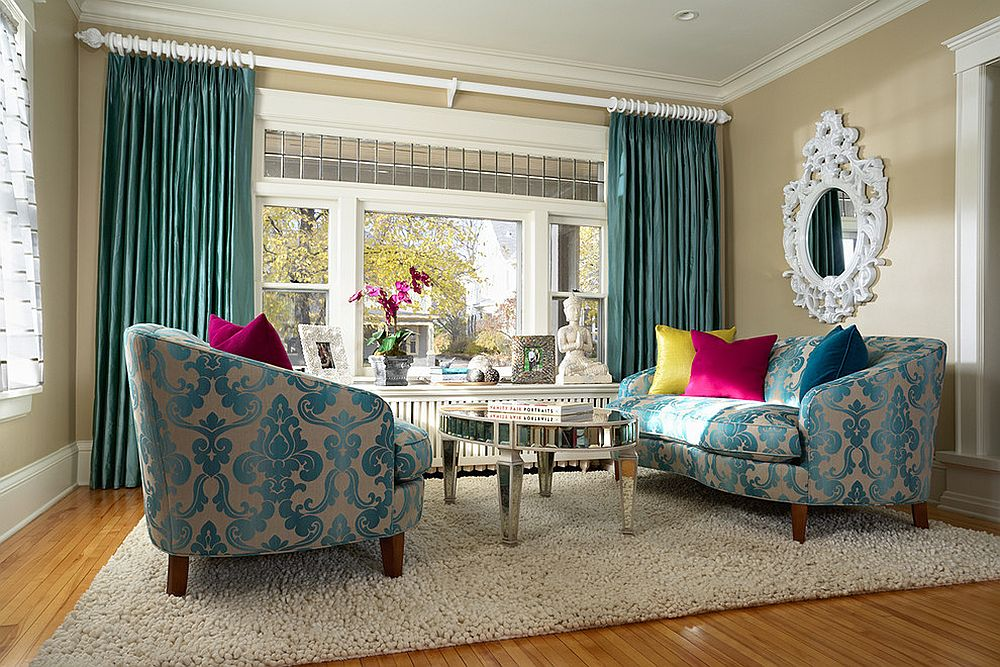 Borghese Grand Oval Coffee Table for the modern living room [From: Julie Dasher]