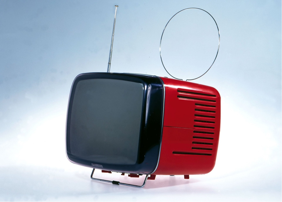 The Brionvega Doney 14 television set (1962). Photograph: Alamy via The Guardian.