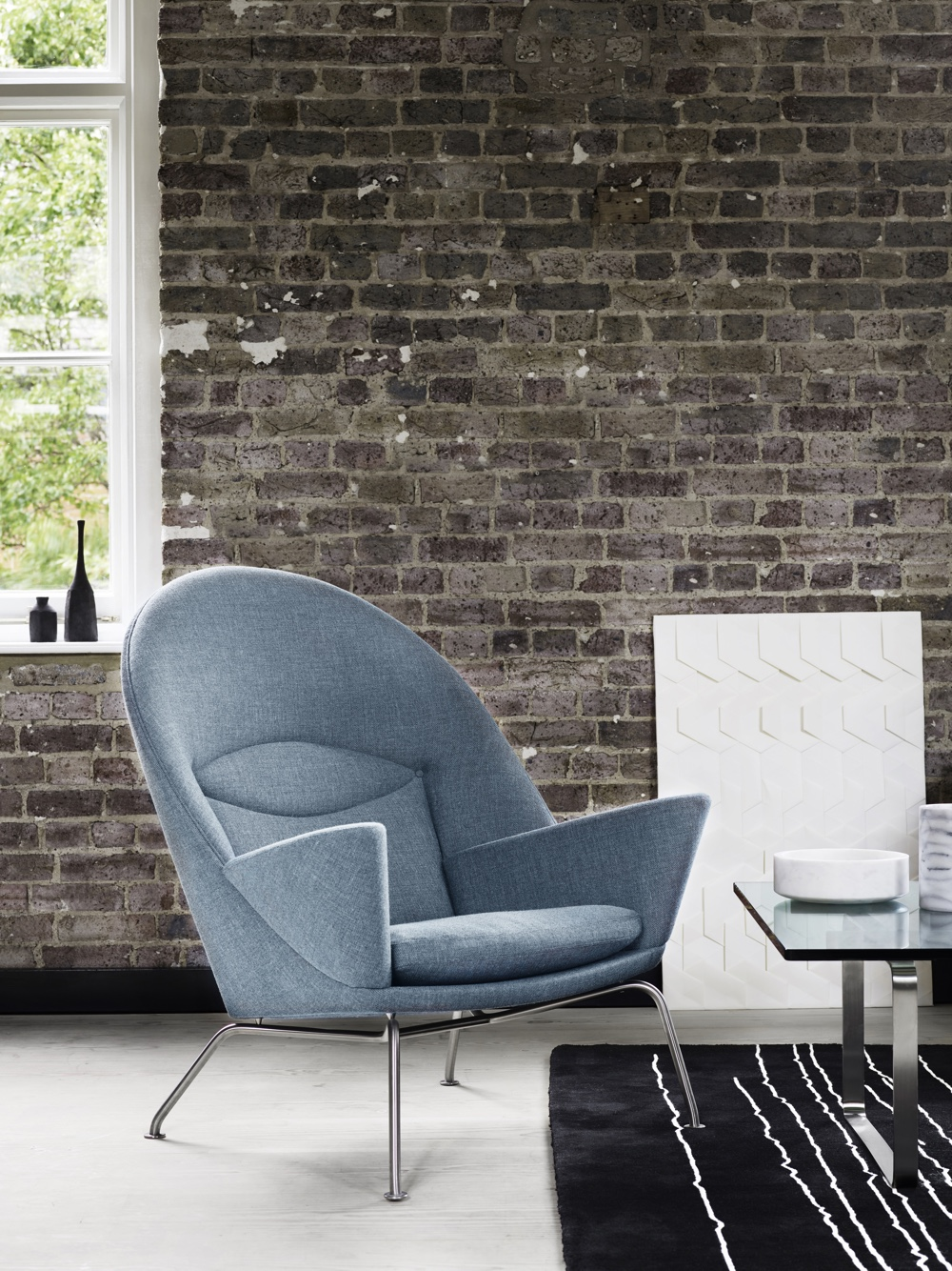 CH468 Oculus Chair. Image courtesy of Carl Hansen & Søn.