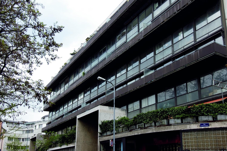 Immeuble Clarté, Geneva, Switzerland, 1930. Photo byJ.J. De Chambrier©J.J. De Chambrier / OFC.