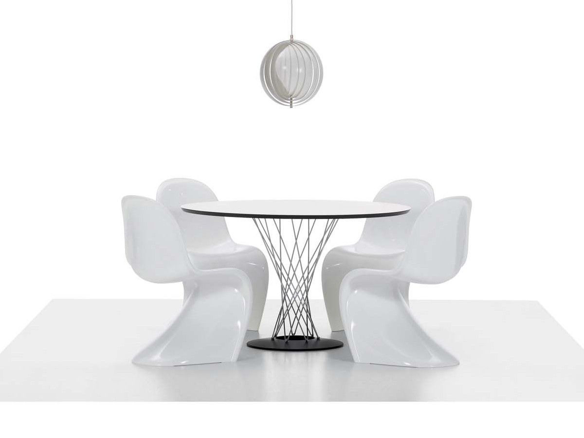Classic Panton Chair in white. Image via Nest.co.uk.