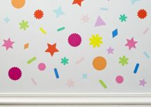 Colorful decals from The Land of Nod 217x155 Fun New Trends for Kids Rooms