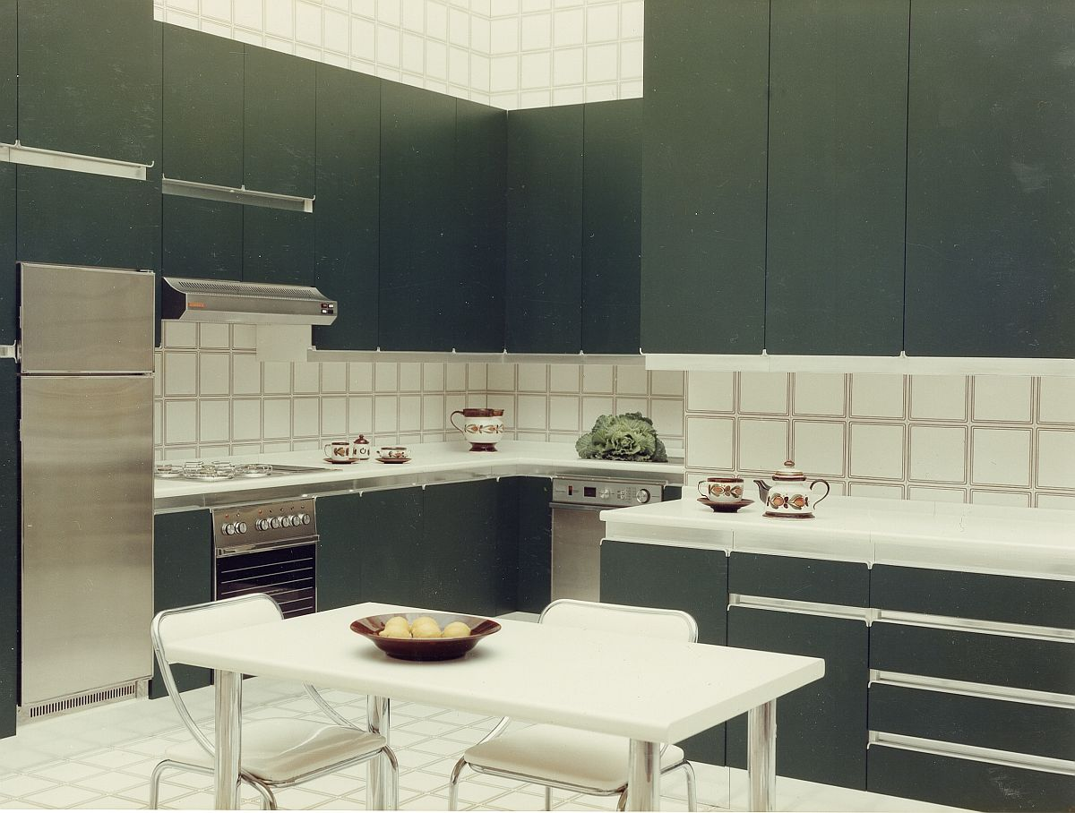 Colorful kitchens like Diana and Nadia shaped homes through the 70s