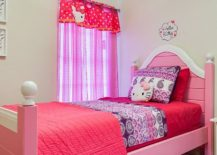 Combination of paisley and Hello Kitty motifs bring together the whimsical and the stylish