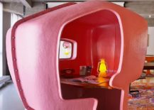 Custom pink enclosure for the home office