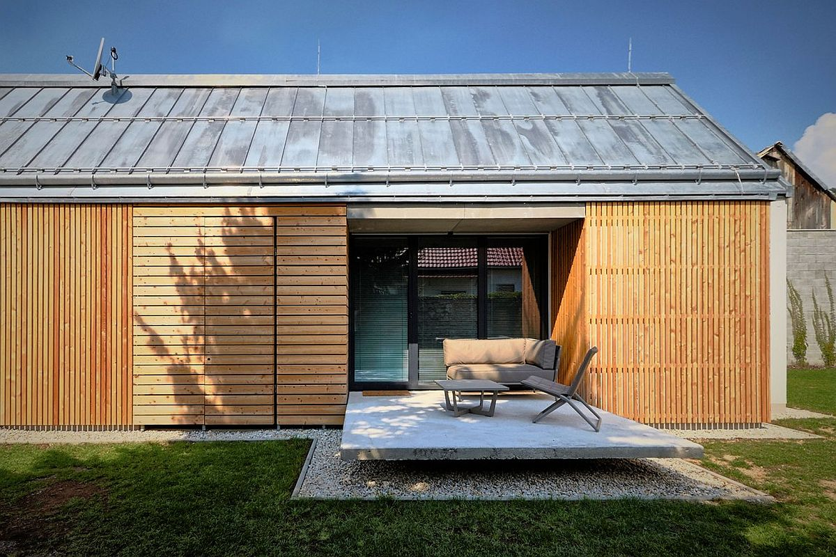 Custom wooden bricks STEKO by ETH Zurich give the home ample insulation