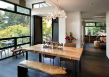 Dining-table-bench-with-natural-wooden-surface-complements-the-dining-table-in-a-fun-fashion-217x155