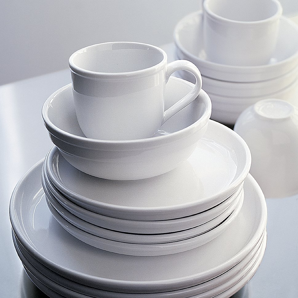 Dinnerware set from Crate & Barrel